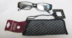 Foster Grant Reading Glasses Francesca With Case and Loop