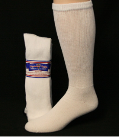 3 Pairs Physicians Choice Diabetic Over-the-Calf Socks