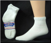 Assorted Color Diabetic Quarter Socks  size 9-11  12 Pack