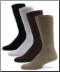 Sole Pleasers Assorted Color Crew Socks - FREE Shipping