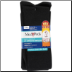 Medipeds Over the Calf light compression Nylon Socks 2 Pair Package