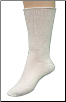 Medipeds Diabetic Extra Wide Crew Socks 2 Pairs